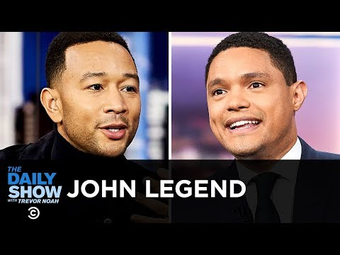 """John Legend - """"Preach"""" & Using Music to Deliver a Message of Action 