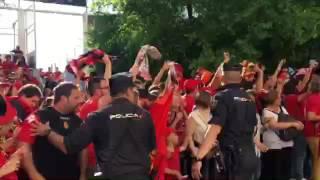 Así reciben al Real Mallorca en Valladolid