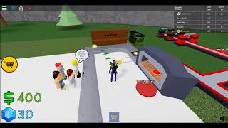 Ho creato una fabbrica di pizza a Roblox