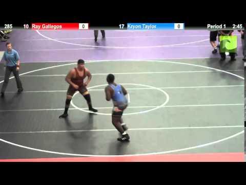 285 Ray Gallegos vs. Kryon Taylor