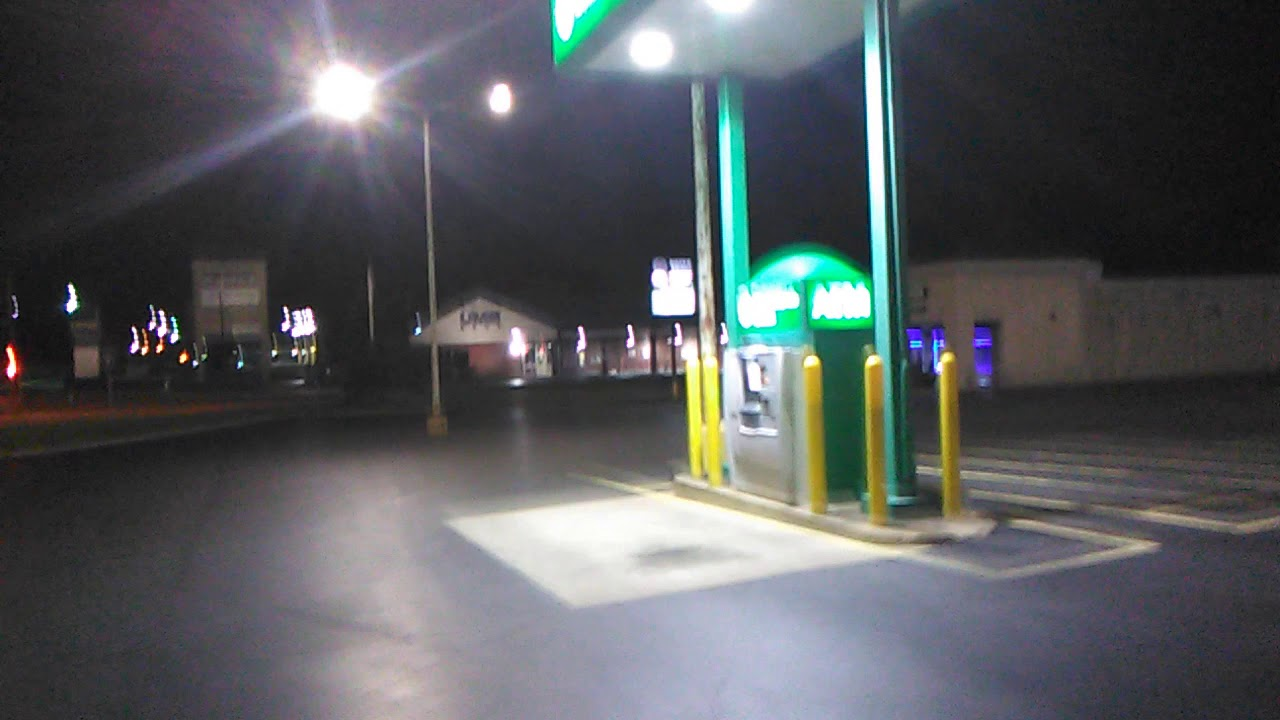 Touring 7th and Rangeline Road to the Mall in Joplin Missouri at night