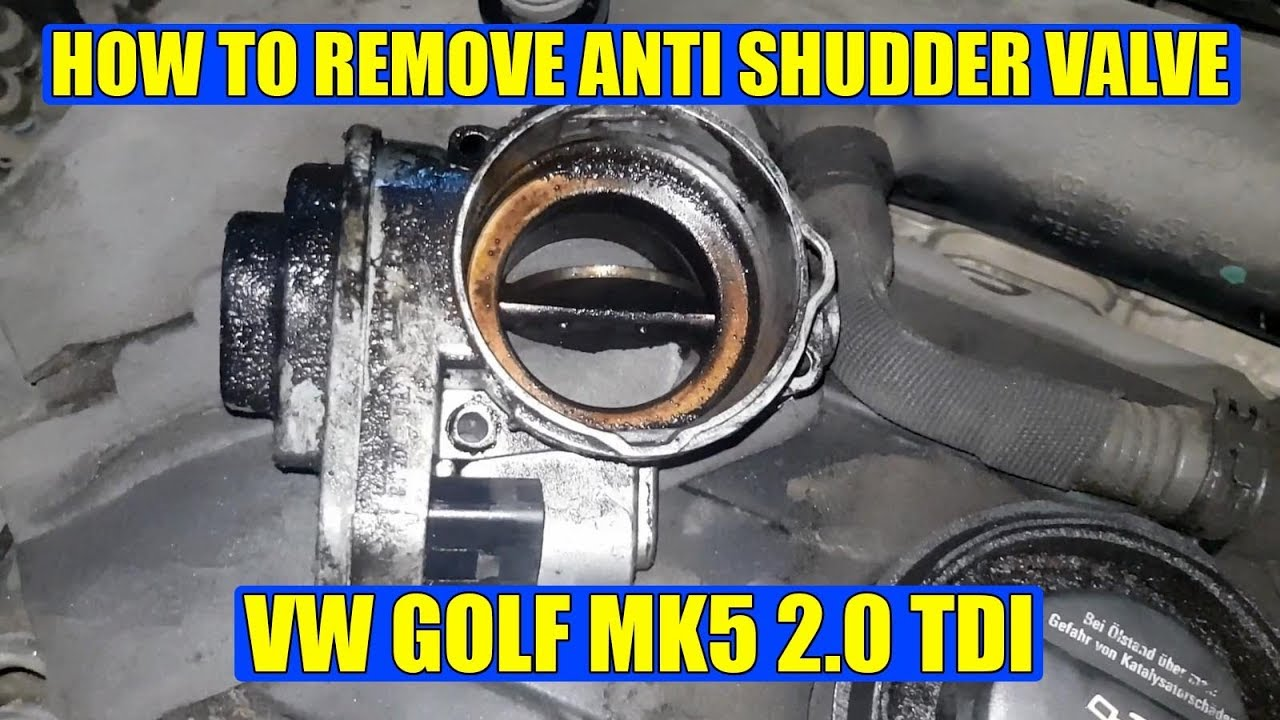 medium resolution of how to remove anti shudder valve asv on vw golf mk5 jetta passat 2000 tdi jetta shutter valve diagram