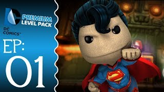 Little Big Planet 2 : DC Comics DLC - Episode 1