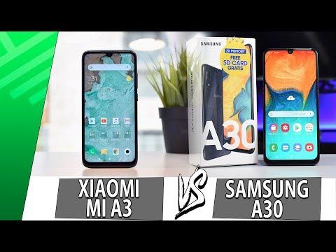 Xiaomi Mi A3 VS Samsung A30 | Enfrentamiento | Top Pulso
