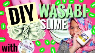 DIY WASABI SLIME! fab.slimestore! ||SLIME TUTORIAL INDONESIA ! MUDAH !