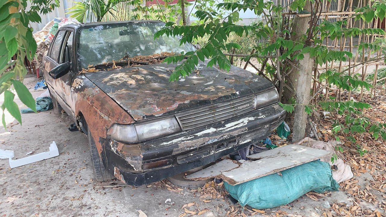 Restoration Car TOYOTA CORONA rusty - Repair manual Comprehensive restore old cars - Part 3
