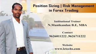 Position Sizing in Forex Trading | Risk Management in Trading | LeTechs