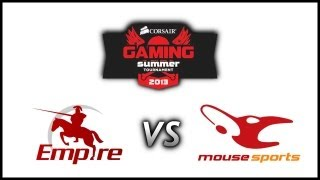 Empire vs Mouz @Corsair Gaming Summer Tournament 2013 (Game 2)