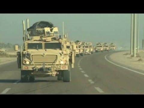 Last-minute dangers leaving Iraq