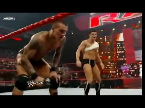 Download WWE Randy Orton kisses Stephanie McMahon