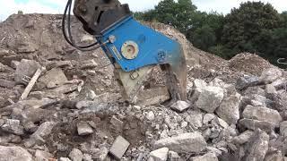 Video still for OKADA OSC280AV Fixed pulverizer Operating weight 1940kg
