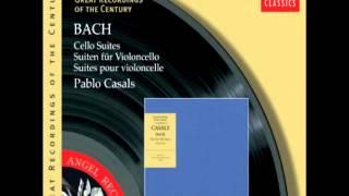 Pau Casals i Defilló  J S Bach  Suite número sis per a violoncel sol, preludi