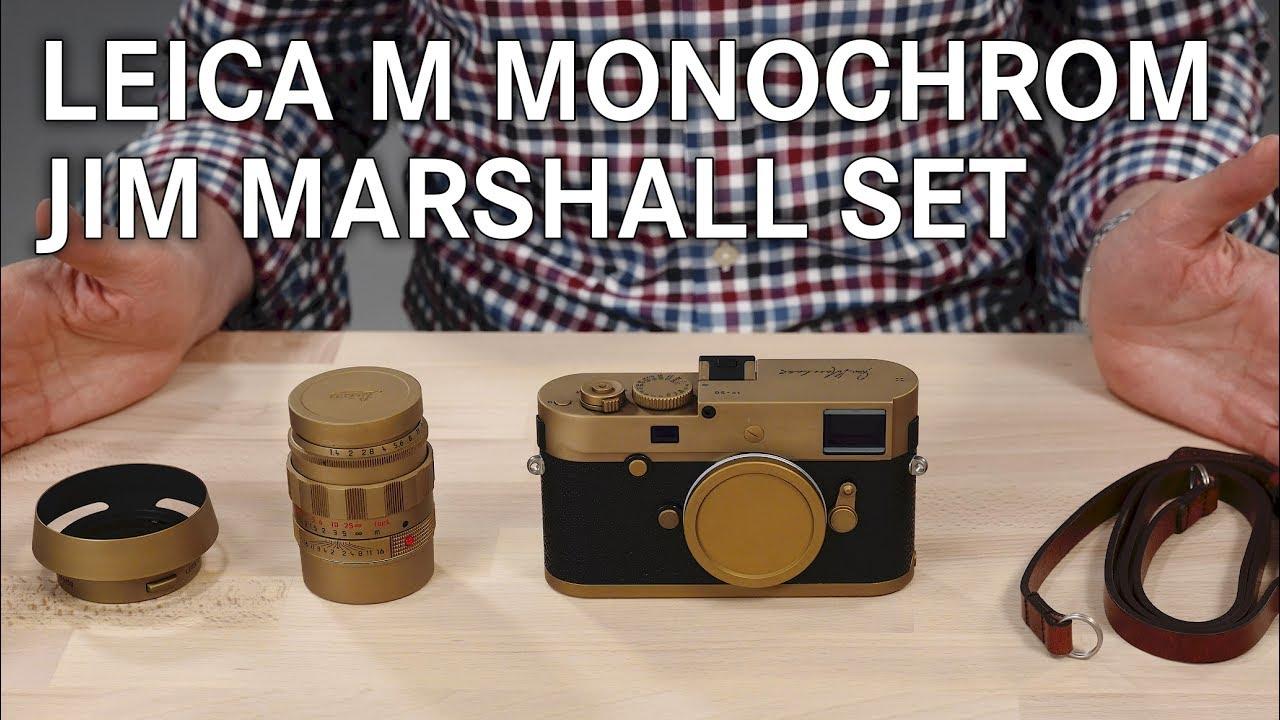 Download Leica M Monochrom 'Jim Marshall' Set Unboxing
