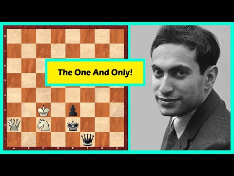 A Chess Puzzle Composed By Mikhail Tal