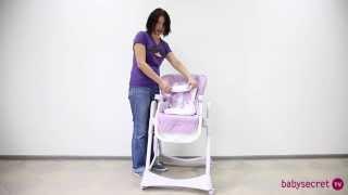Обзор по стулу для кормления Happy Baby William