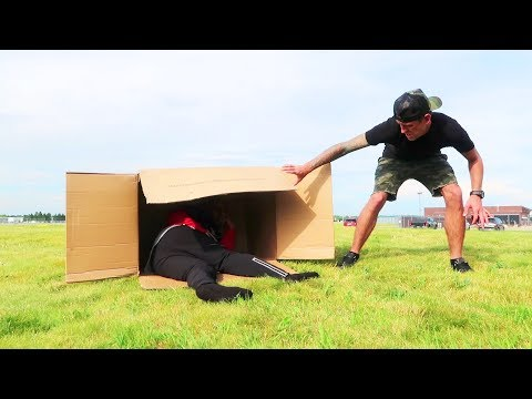 I FOUND A MAN!! (In a box)