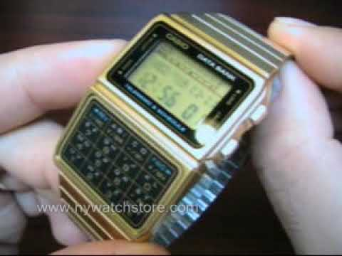 how to set up casio 1300b watches