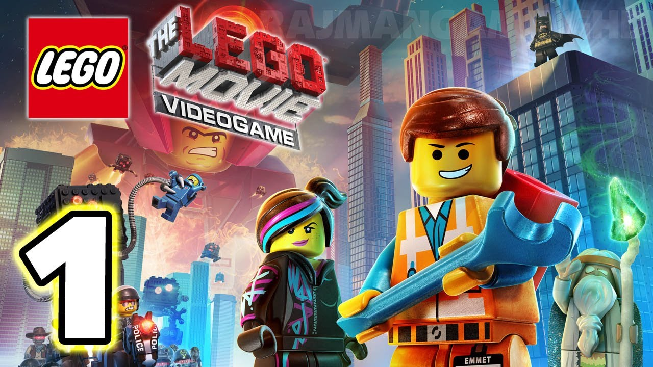 Lego Movie Videogame Walkthrough Part 1 Ps3 Lets Play Gameplay