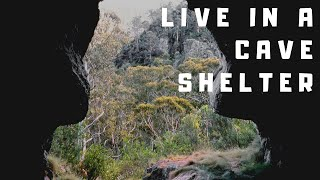 Live in a Cave Shelter...Paleo Tracks Survival