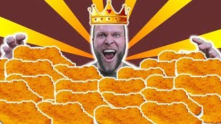 9lb (4kg) Schnitzel Eating Challenge | The Schnitzel King! - Furious World Tour Special