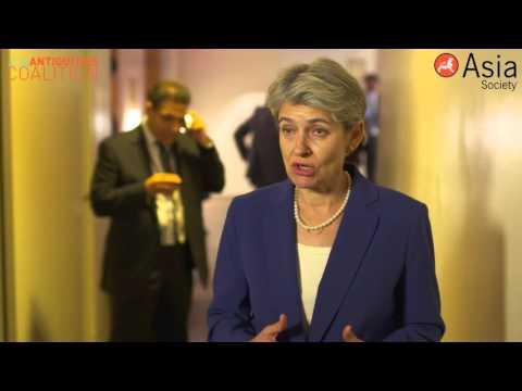 #CultureUnderThreat: Irina Bokova