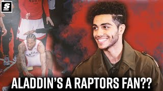 Disney's 'Aladdin' star Mena Massoud talks being a Raptors fan | Pound the Rock