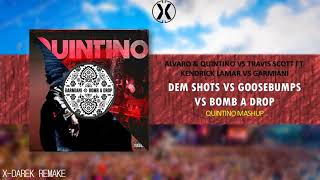 Dem Shots Vs. Goosebumps Vs. Bomb A Drop (Quintino Mashup) (X-Darek Remake)