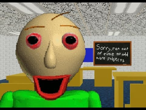 【ゆっくり実況】殺人教師から逃げろ! - Baldis Basics【ホラーゲーム】※クリア動画