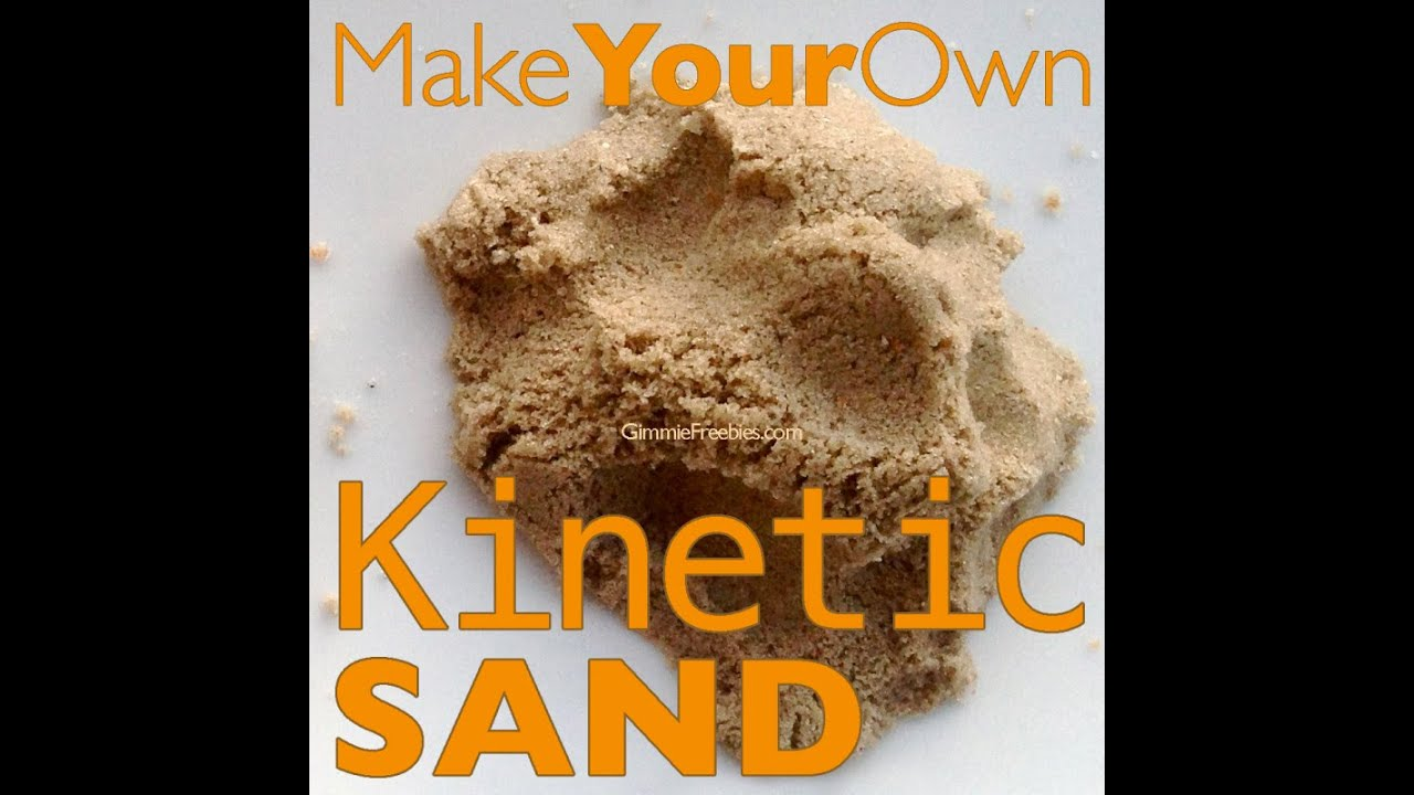 Make Your Own Kinetic Sand 10 Lbs For 50 Cents Homemade