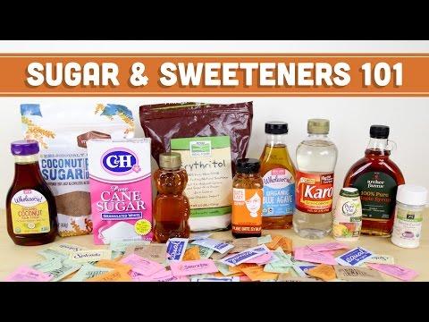 Sugar & Sweeteners 101! Artificial, Natural, Sugar Alcohols & RANTMind Over Munch