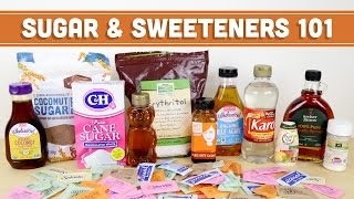 Sugar & Sweeteners 101! Artificial, Natural, Sugar Alcohols & RANT- Mind Over Munch