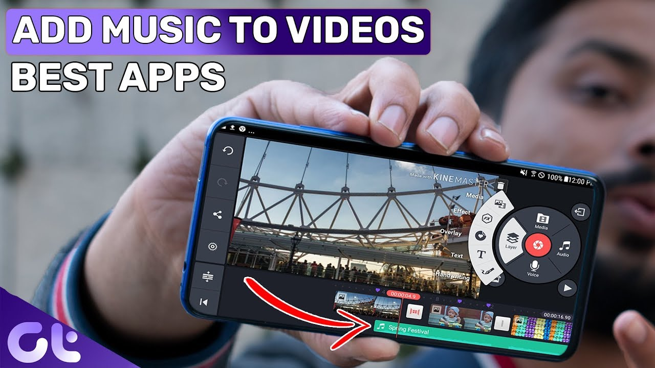 Best Apps To Add Music To Videos On Android And Iphone Music Video Editors Guiding Tech Youtube
