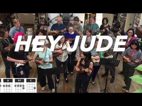 Hey Jude // Beatles Ukulele Play-Along (Chords & Lyrics)