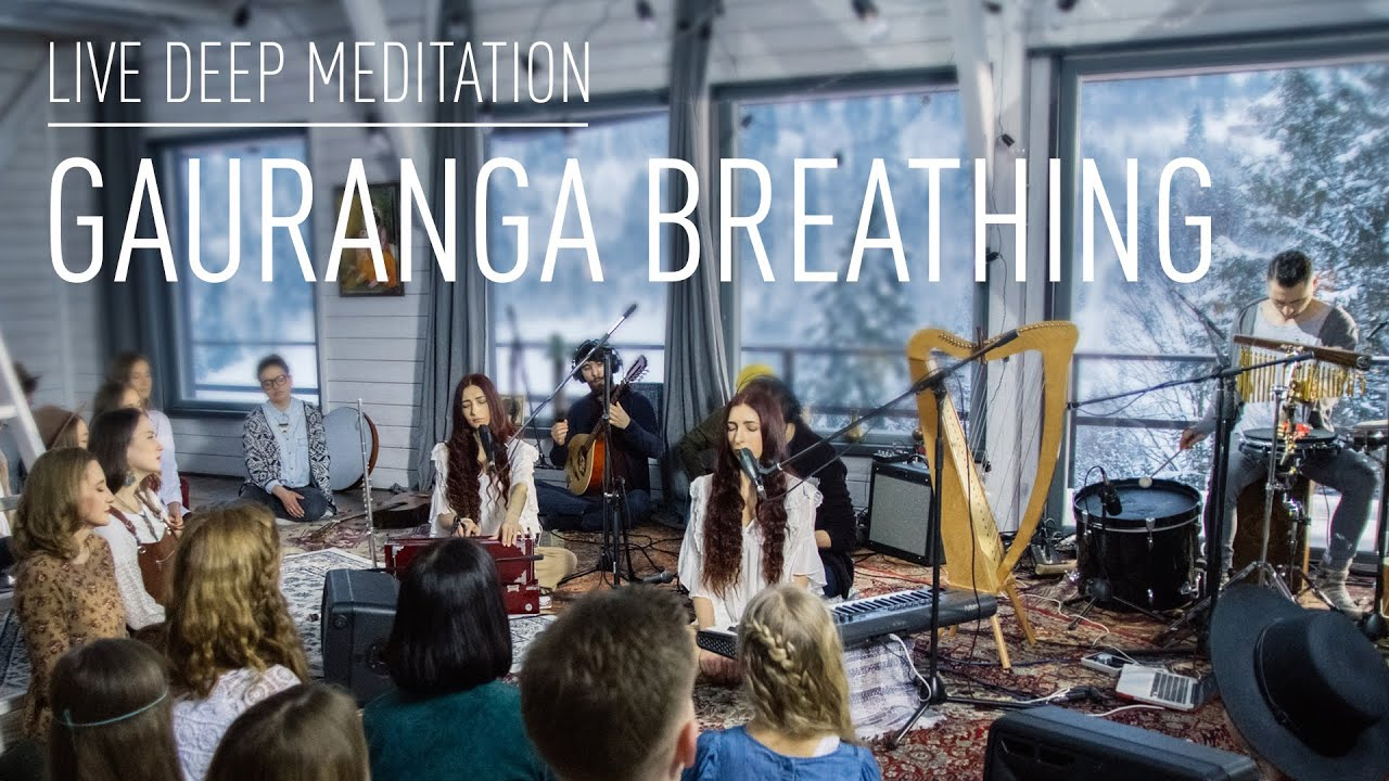 ATMASFERA - Deep Meditation. Gauranga breathing | Live