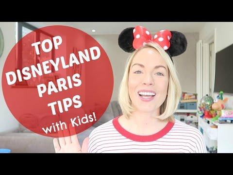 TOP DISNEYLAND PARIS TIPS with KIDS  |  EMILY NORRIS