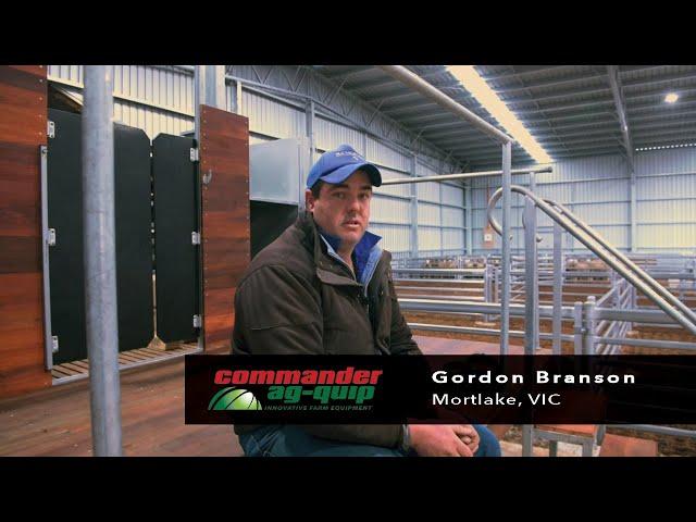Commander Ag-Quip Sheep Yards and Shearing Modules- Mortlake, VIC