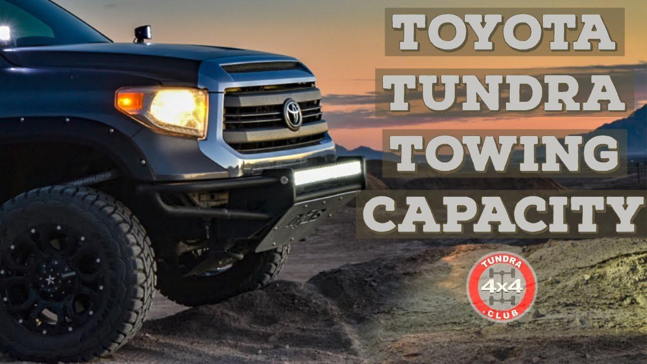 Toyota Tundra Towing Capacity >> Toyota Tundra Towing Capacity Youtube