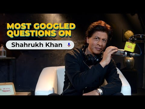 Shah Rukh Khan Answers Most Googled Questions | Zero Special | Radio Mirchi