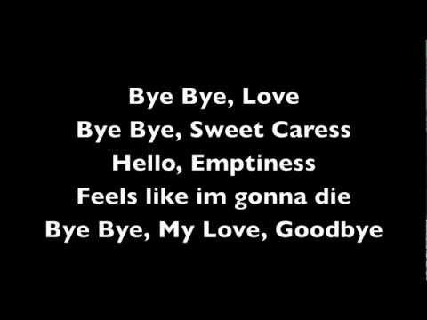 Bye bye love- Ekolu(Lyrics)