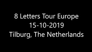 Why Don't We 8 Letters Tour Europe 15-10-2019 Tilburg, The Netherlands