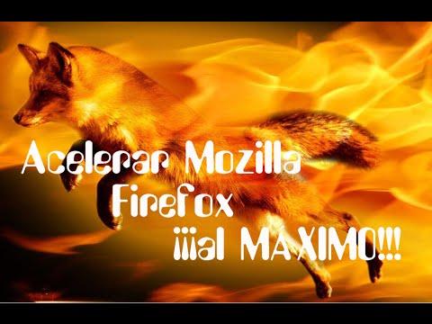 Acelerar Mozilla Firefox al MÁXIMO. ¡¡2016!!