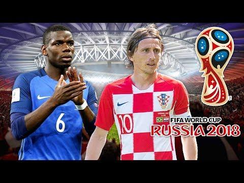 FIFA 18 COUPE DU MONDE : France - Croatie (Finale)