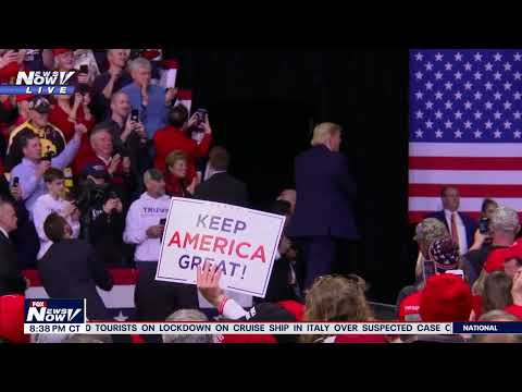FULL TRUMP RALLY: Keep America Great Rally in Des Moines, Iowa
