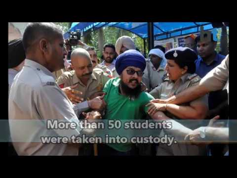 Why are students protesting at Panjab University, Chandigarh? Mp3