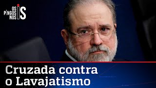 Augusto Aras ataca a Lava Jato