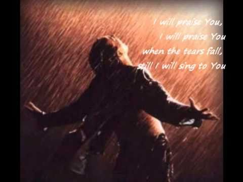 When The Tears Fall by Tim Hughes (with lyrics)