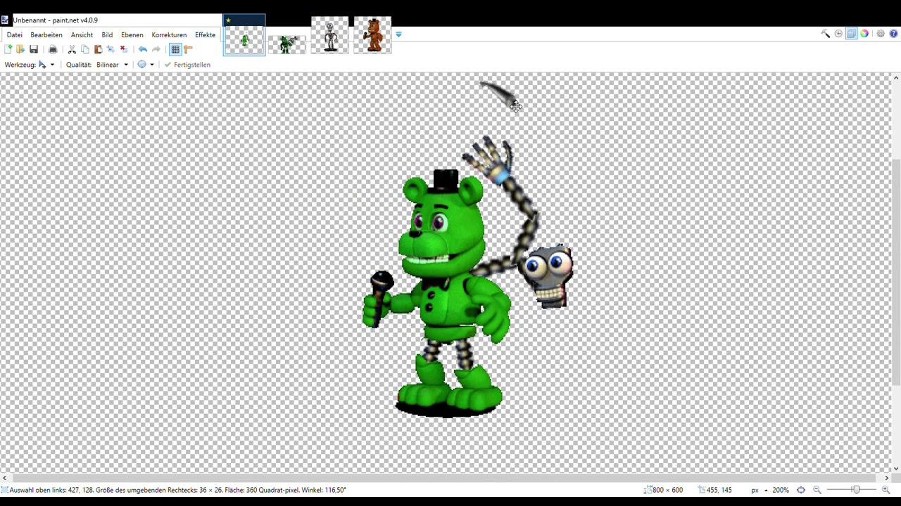 ????(making my own fnaf world character/part 1/2)