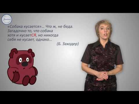 Уроки русского Неопределенная форма глагола