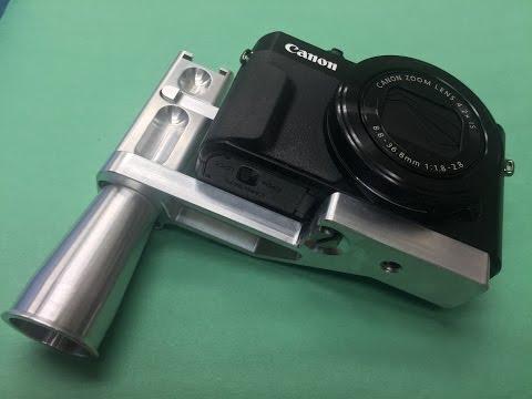 Canon G7X MII Vlog Grip Screw Lathe Opp Part-1