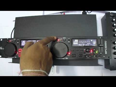 NX AUDIO MPC5000U DUAL CD / MP3 & USB PLAYER
